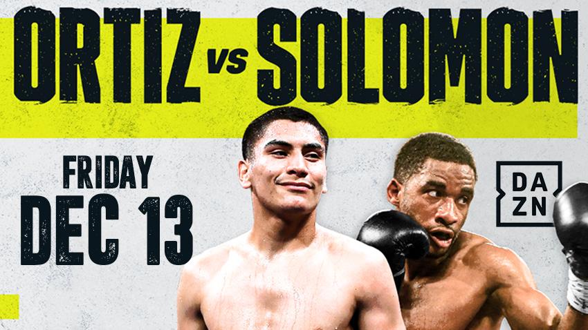 Ortiz vs Solomon